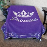 Princess Tapestry Throw, Purple