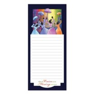 Praises Go Up Magnetic Notepad