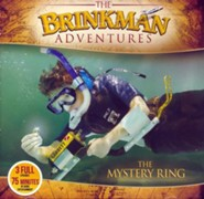 The Brinkman Adventures Season 2 Sampler: The Mystery Ring  (3 Episodes on 1 Audio CD)