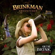 Brinkman Adventures Season 1: On the Brink (12 Episodes on 4  Audio CDs)