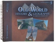 Abeka Old World History & Geography Teacher's Edition