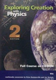 Exploring Creation with Physics, 2nd Edition, Full Course CD-ROM, Version 9.0