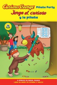Curious George Pinata Party Bilingual