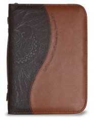 Call To Me Bible Cover, Medium Brown