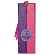 Delight Yourself in the Lord Bookmark, Purple and Pink