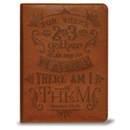 Matthew 18:20 Journal, Brown