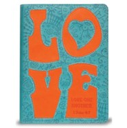 Love Journal, Teal and Orange