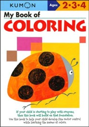 Kumon My Book of Coloring, Ages 2-4