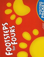 BJU K4 Footsteps for Fours, Student Writing Packet 2nd Edition