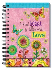 A Kind Heart Is Filled With Love Journal