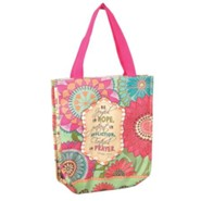 Be Joyful In Hope, Bible Study Tote Bag