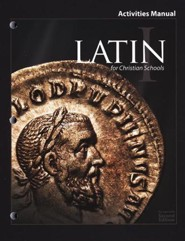 BJU Latin 1 Student Activities Manual, Second Edition