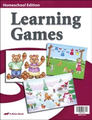 Abeka K4-K5 Homeschool Learning Games (10 Learning Games)
