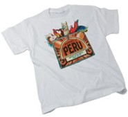 Passport to Peru VBS: Theme T-shirt Adult (Large 42-44)