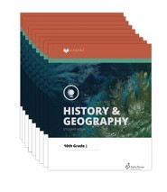 Lifepac History & Geography Workbook Set, Grade 6