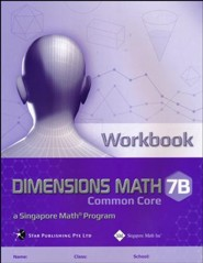 Dimensions Math Workbook 7B