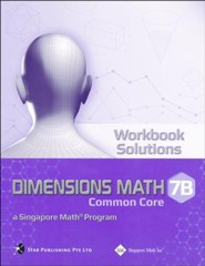 Dimensions Math Workbook Solutions 7B