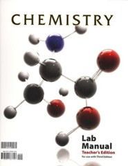 BJU Chemistry Grade 11 Lab Manual Teacher's Edition, Third Edition