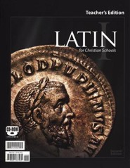BJU Latin 1 Teacher's Edition with Audio CD, Second Edition