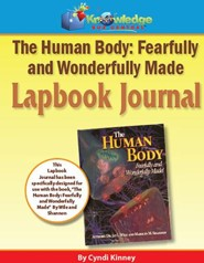 Apologia Human Body: Fearfully & Wonderfully Made 1st Edition Lapbook Journal (Printed)