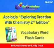 Apologia Exploring Creation With Chemistry (2nd Edition) Vocabulary Word Flash Cards (Printed)