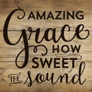 Amazing Grace How Sweet the Sound Coaster, Small