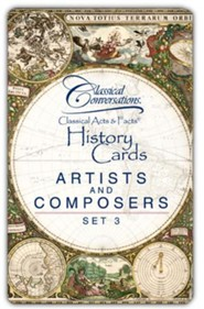 Classical Acts & Facts: Artists & Composers Set 3