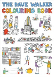 The Dave Walker Colouring Book  -     By: Dave Walker