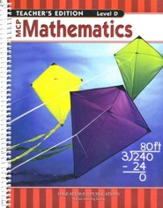 MCP Mathematics Level D Teacher's Guide (2005 Edition)