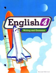 BJU English: Writing & Grammar Grade 4, Student Worktext  (Second Edition), Updated Version