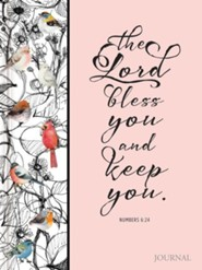 The Lord Bless You and Keep You Journal  -