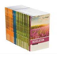 New Testament for Everyone Set, Enlarged-Print Edition, 18 Volumes
