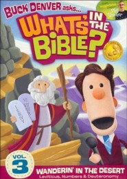 What's in the Bible? #3: Wanderin' In the Desert, DVD