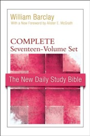New Daily Study Bible, Complete Set (17 Volumes) : New Testament
