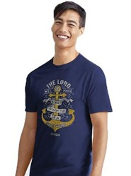 Anchor Waves Shirt, Blue, X-Large