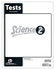 BJU Science Grade 2 Test Packet (Third Edition)