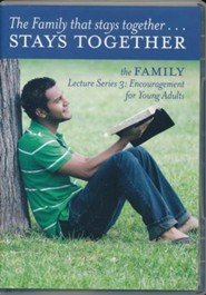 Family Lecture Series Part 3: Encouragement for Young Adults Audio CD