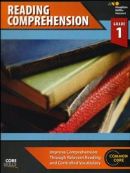 Steck-Vaughn Core Skills Reading Comprehension Workbook Grade 1
