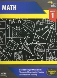 Steck-Vaughn Core Skills Math Workbook Grade 1