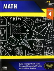 Steck-Vaughn Core Skills Math Workbook Grade 4