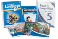 Abeka Grade 5 Homeschool Child Language Arts Kit