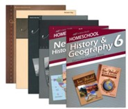 Abeka Grade 6 Homeschool Parent History Kit