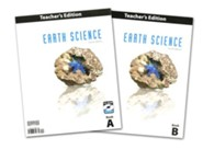 BJU Earth Science Grade 8 Teacher's Edition with CD-ROM  (Fourth Edition)
