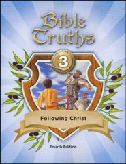 BJU Bible Truths Grade 3 (Following Christ) Student Worktext,  Fourth Edition