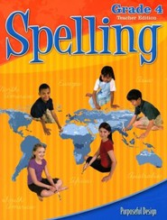 ACSI Spelling Grade 4, Teacher's Edition, Revised