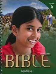ACSI Bible Grade 6 Teacher's Edition, Revised