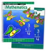 MCP Mathematics Level A, Grade 1, 2005 Edition, Homeschool Kit