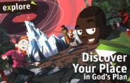 Discover Your Place in God's Plan (Explore Student Book 2)