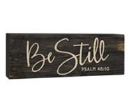 Be Still, Plaque