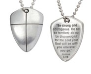 Shield of Faith--Pewter Pendant
